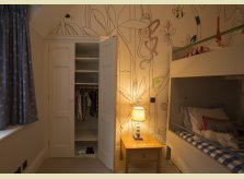 Built in wardrobe for a child's bedroom