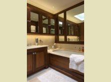 Classic bathroom in American Black Walnut.JPG