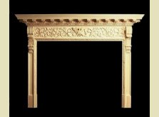 Specially Commissioned Eagle Frieze Mantel