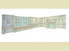 Hallidays proposed panelled room scheme