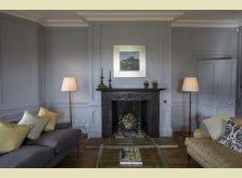 Painted panelled drawingroom by Hallidays