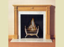 The classic and understated Phillipe fire surround