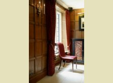 Traditional Oak panelling in a contemporary style hallway, The Watley Manor Hotel
