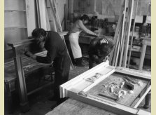 For nearly 70 years Hallidays craftsmen have been using traditional skills in Hallidays' Oxfordshire workshop