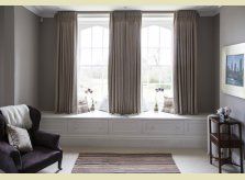 Bedroom windowseat by Hallidays with drawers and lift up storage space