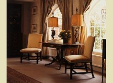 A selection of Hallidays' fine antique furniture, lamps and accessories